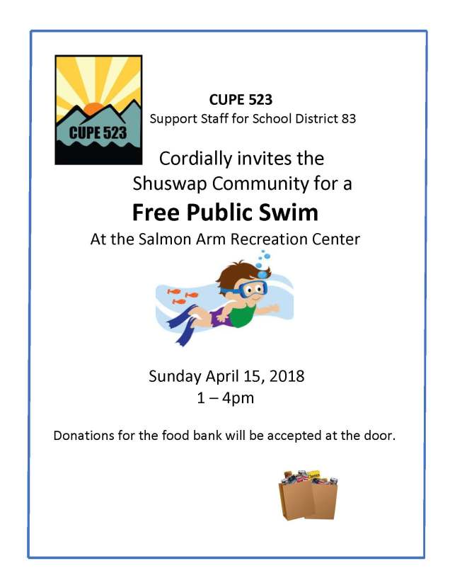 CUPE 523 swim Support Staff for School District 83 (1)