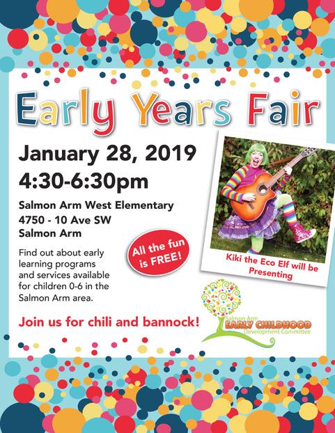 sa early years fair 2019_poster