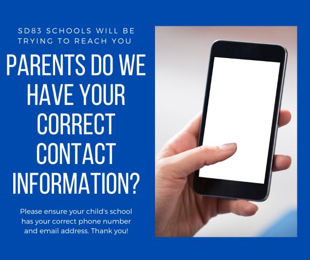Parent contacts